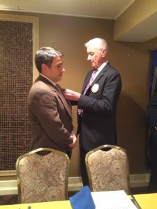 New Members Inducted into North Shore Rotary Club